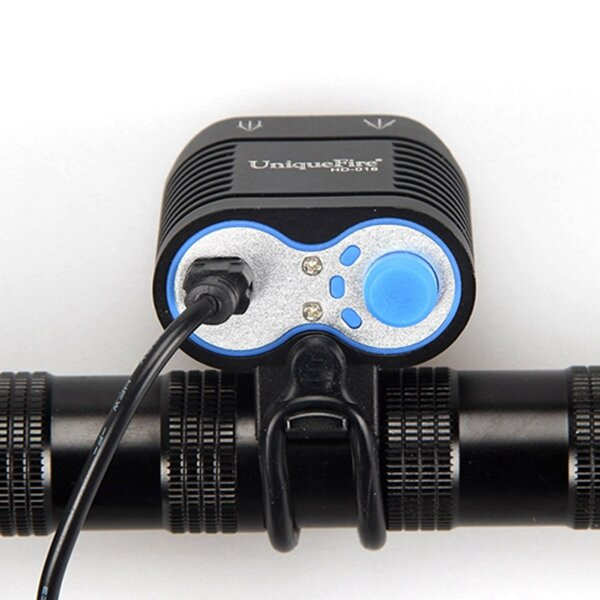 Elfeland 5000LM Headlamp with 18650 Batteries USB Rechargeable Camping Lamp Hunting Cycling Flashlight - 7
