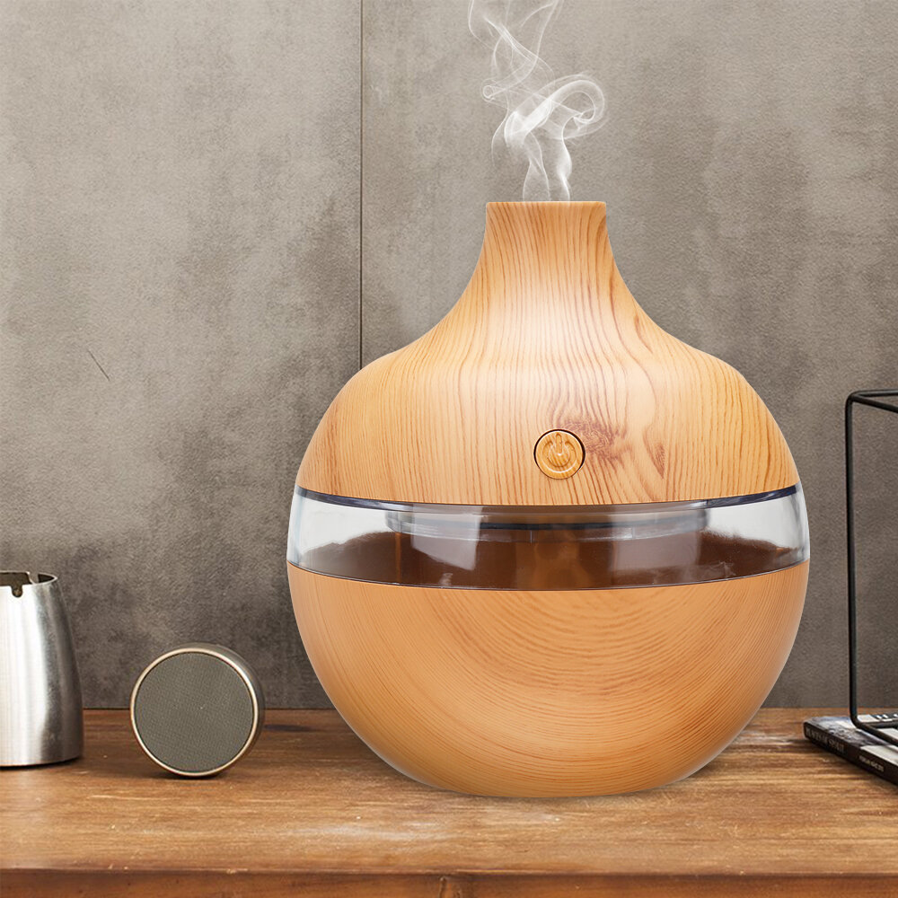 300ml 7 Color Night Lights Essential Oil Diffuser Aromatherapy Cool Mist Humidifier for Office Home Study Yoga Spa Baby USB Charging - 11