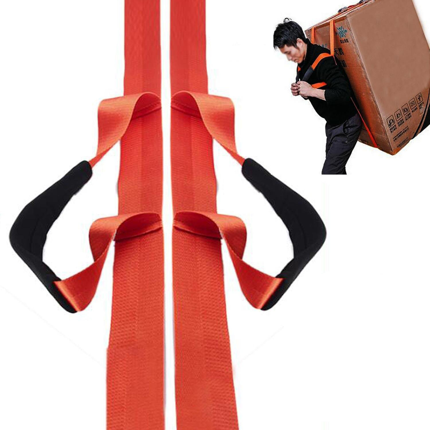 1 Person Furniture Lifting Moving Straps Carrying Belts Ergonomic