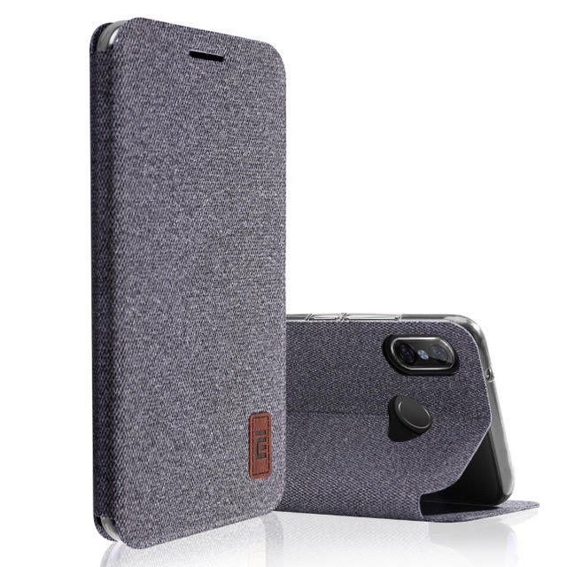 Bakeey Flip Shockproof Fabric Soft Silicone Edge Full Body Protective Case For Xiaomi Redmi Note 5
