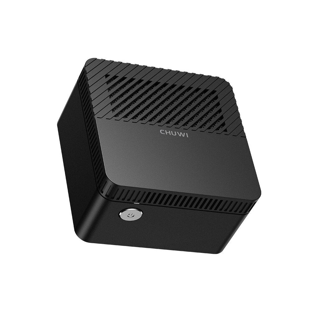 CHUWI LarkBox Mini PC Intel Celeron J4115 6GB LPDDR4 128G eMMC Desktop PC Quad Core 1.80GHz to 2.50GHz Intel UHD Graphics 600 BT5.1 Win10/Linux