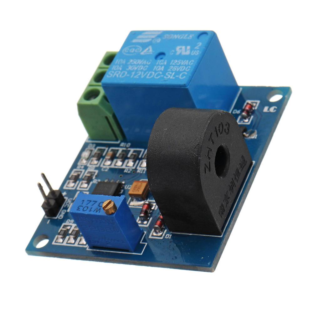 3Pcs DC 12V 5A Overcurrent Protection Sensor Module AC Current Detection  Relay Module Switch Output
