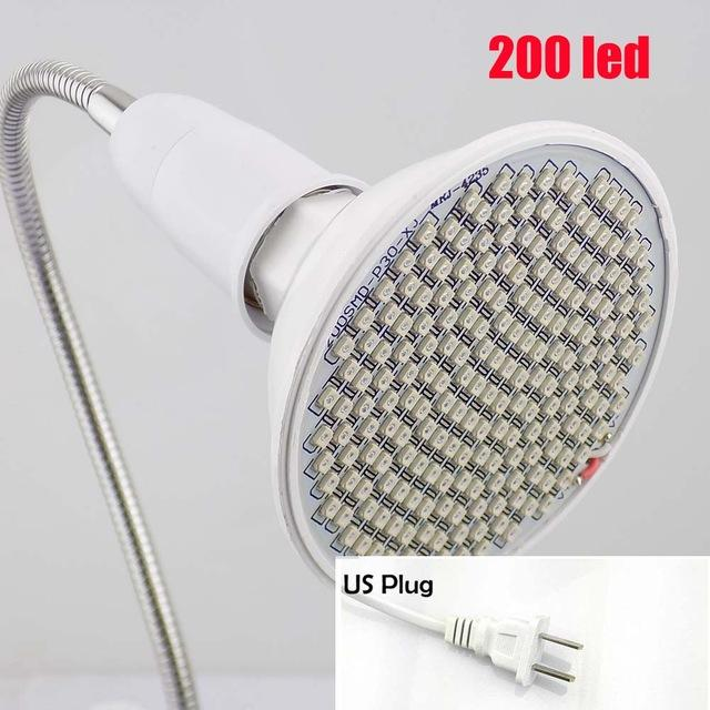 1200W Double Chips LED Grow Light Full Spectrum Grow Lamp for Greenhouse Hydroponic Indoor Plants - 6