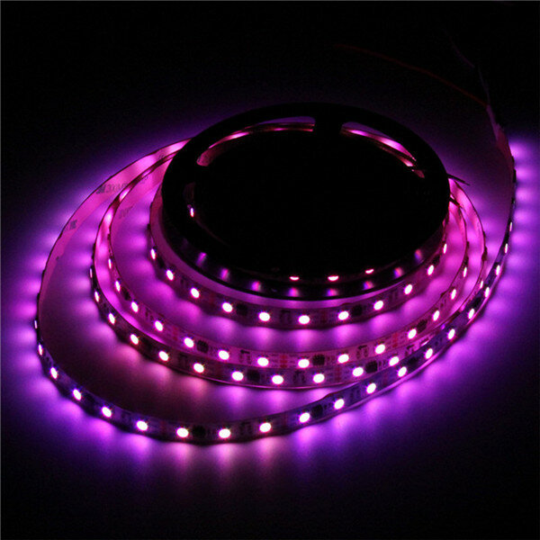 1M WS2812B 5050 RGB Changeable LED Strip Light 144 Leds Non-waterproof Individual Addressable 5V - 9