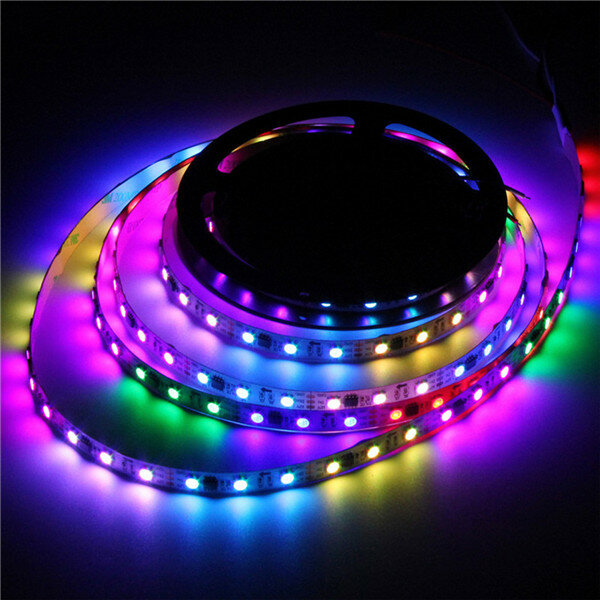 1M 5M WS2812B 5 Pins RGBW RGBWW 4 IN 1 LED Strip Light Non-Waterproof DC5V - 7