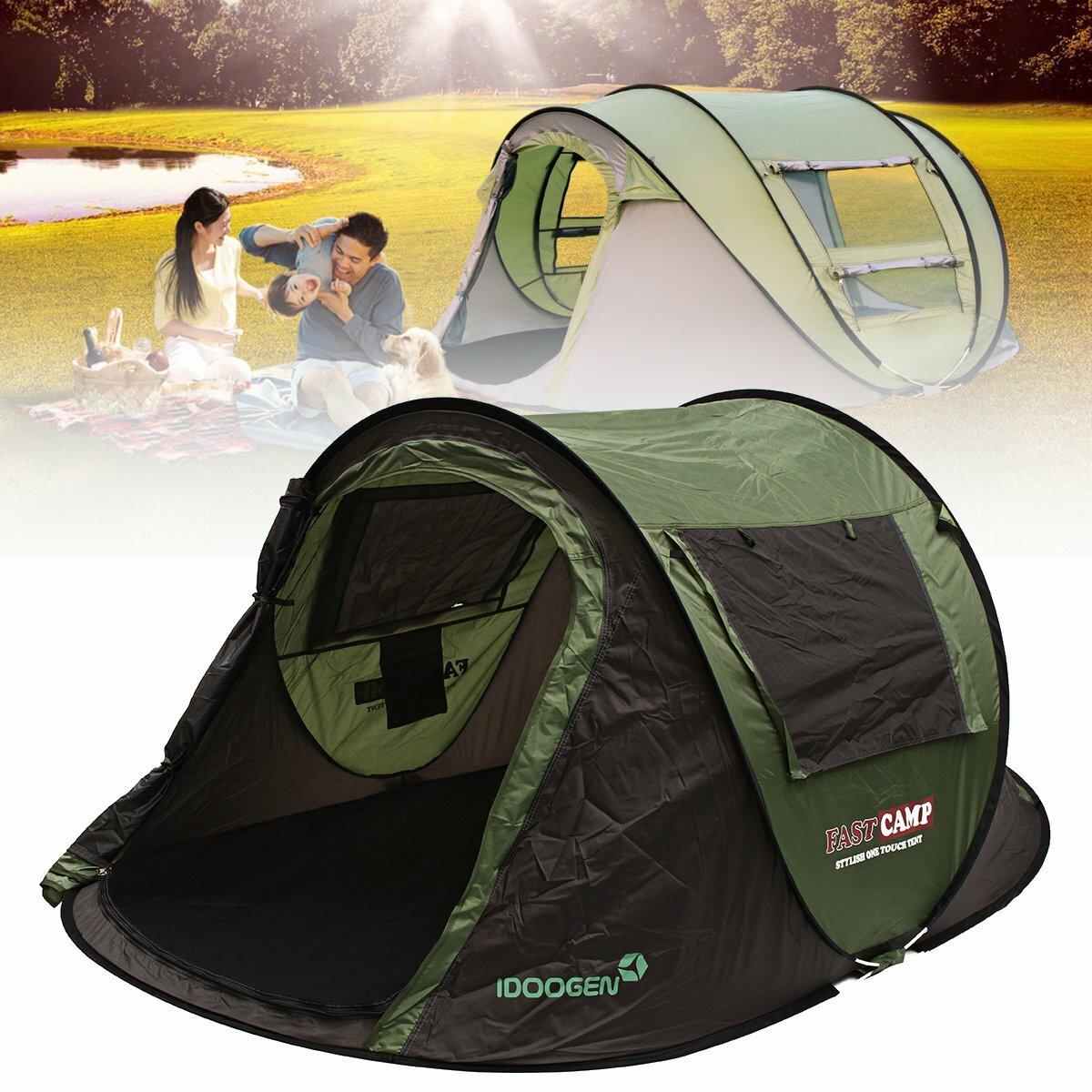Outdoor Heavy Duty Sun Shade Sail Waterproof UV Proof Tent Canopy Shelter Sunshade - 1