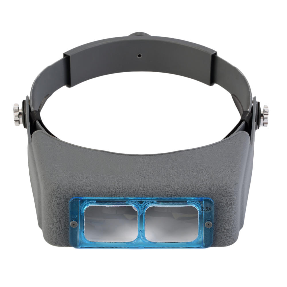 MG81007 B 1.5X 2X 2.5x 3.5x Hands Free Magnifier Magnifying Glass for Operation Handicraft Jewelry - 3