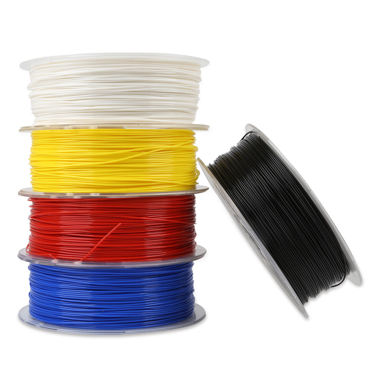 Creality 3D White/Black/Yellow/Blue/Red 1KG 1.75mm PLA Filament For 3D Printer