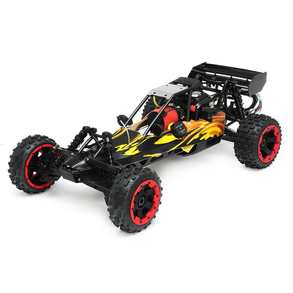 Rovan 1/5 2.4G RWD 80km/h for Baja Rc Car 29cc Petrol Engine Buggy W/O Battery Toys