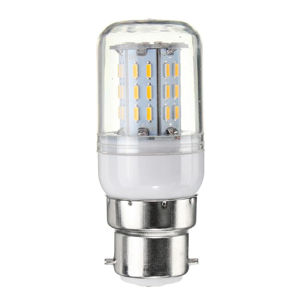 Dimmable E27 E14 E12 G9 GU10 B22 6W SMD4014 LED Corn Bulb Chandelier Light AC220V - 6