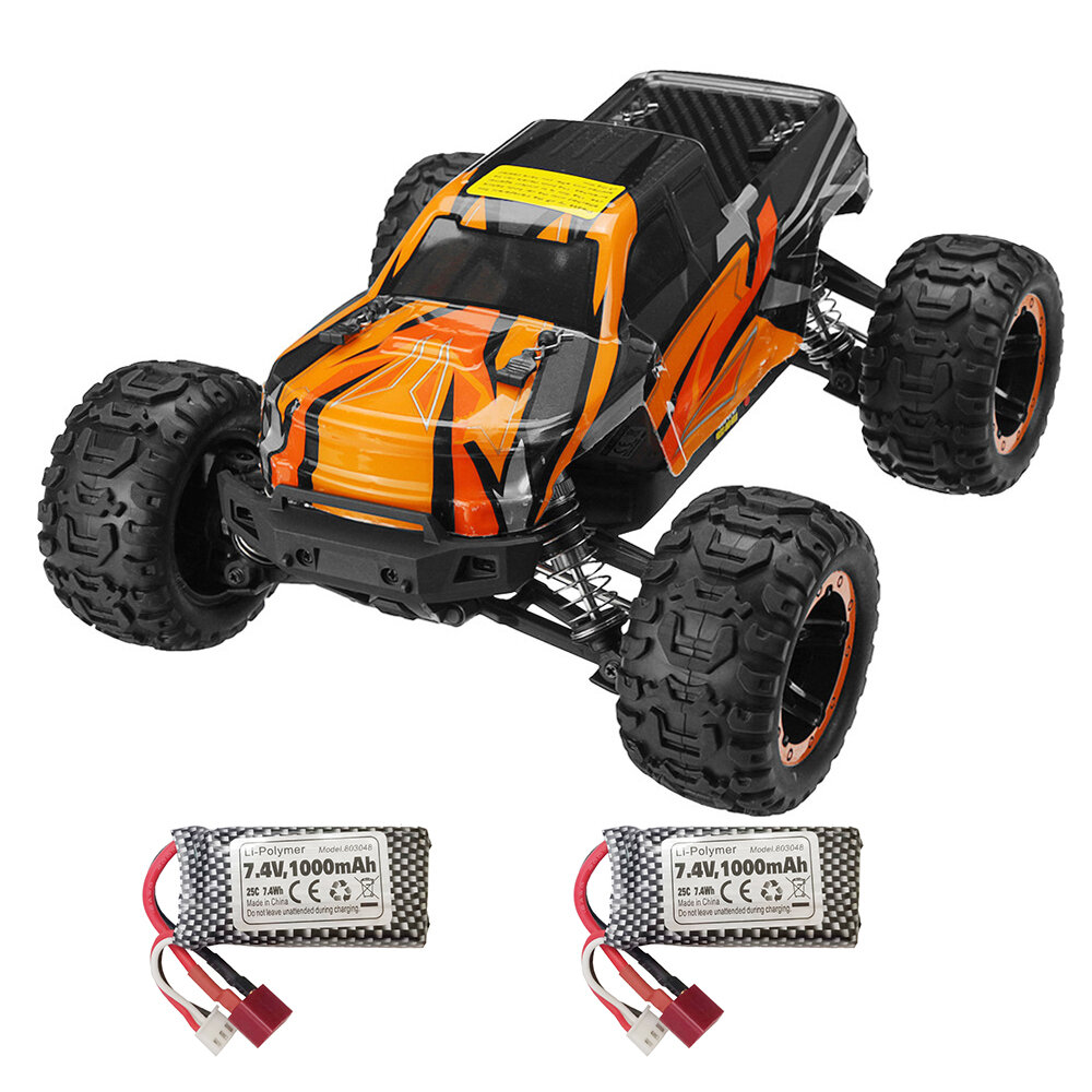 HBX 16889A Pro 1/16 2.4G 4WD Brushless High Speed RC Car Vehicle Models Full Propotional Two Three Battery