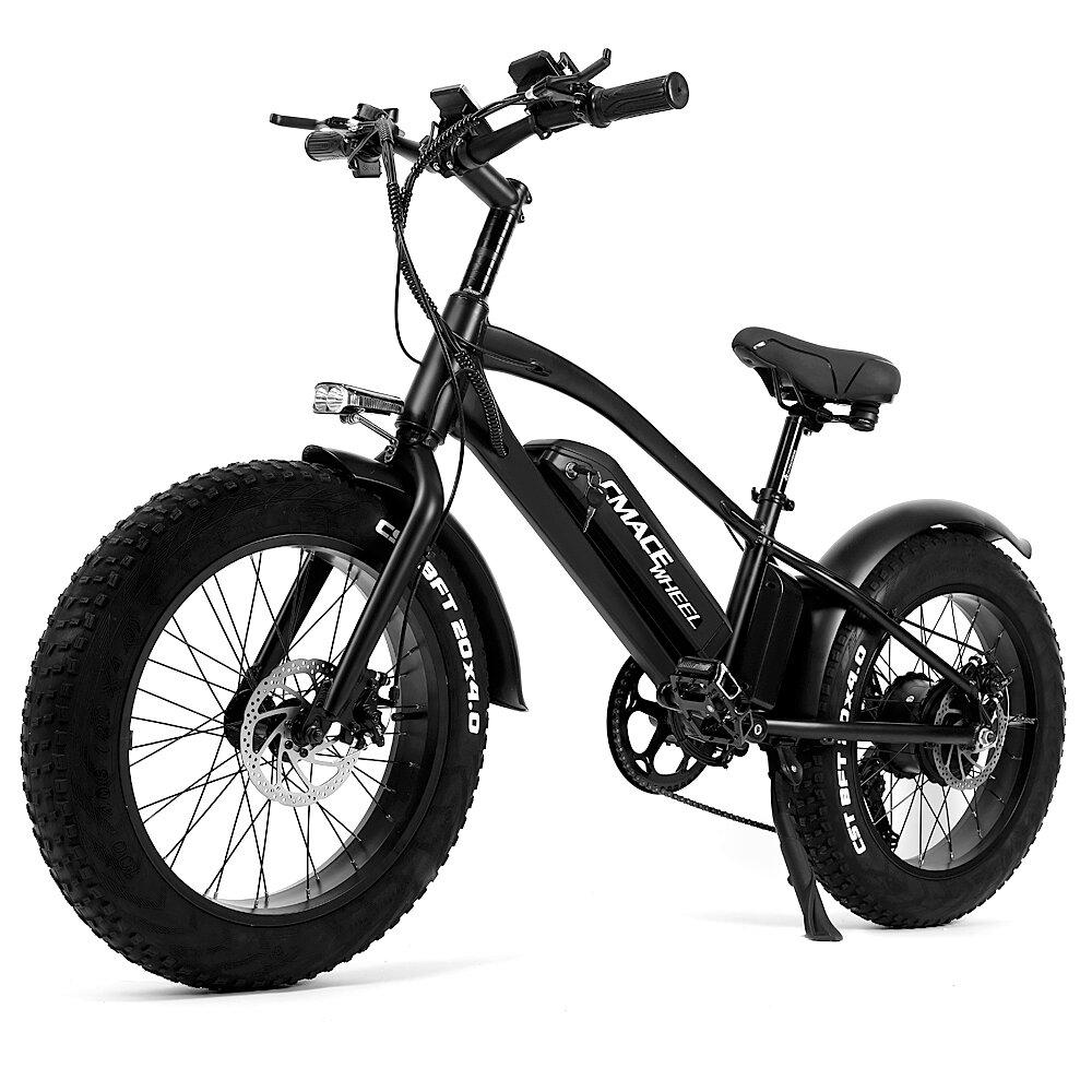 [EU DIRECT] CMACEWHEEL T20 10Ah 750W Moped Electric Bicycle 20*4in Fat Tire Electric Bike Max Speed 45km/h Mileage 120km E-Bike