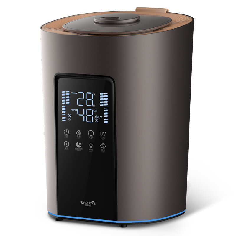 Deerma DEM-F850S Ultrasonic HumidifierUV-C Sterilization 5L Water Capacity 300mL/h 8 Functions 3 Preset Modes 4-layer  - buy with discount