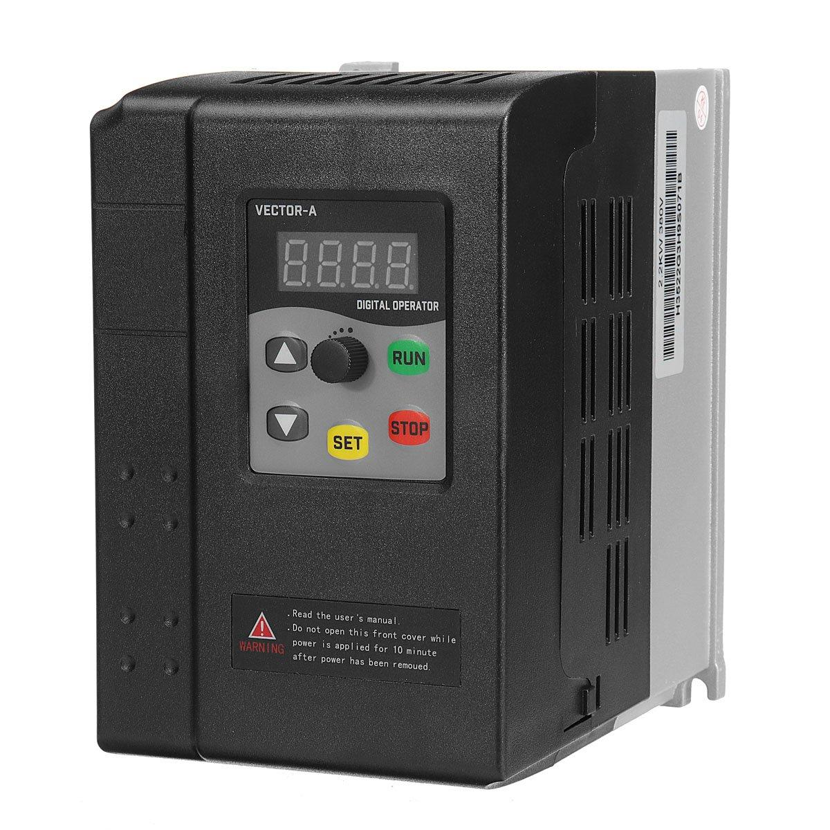 2 2KW 3HP 380V 5A 3 To 3 Phase Variable Frequency Inverter Motor Drive VSD  VFD
