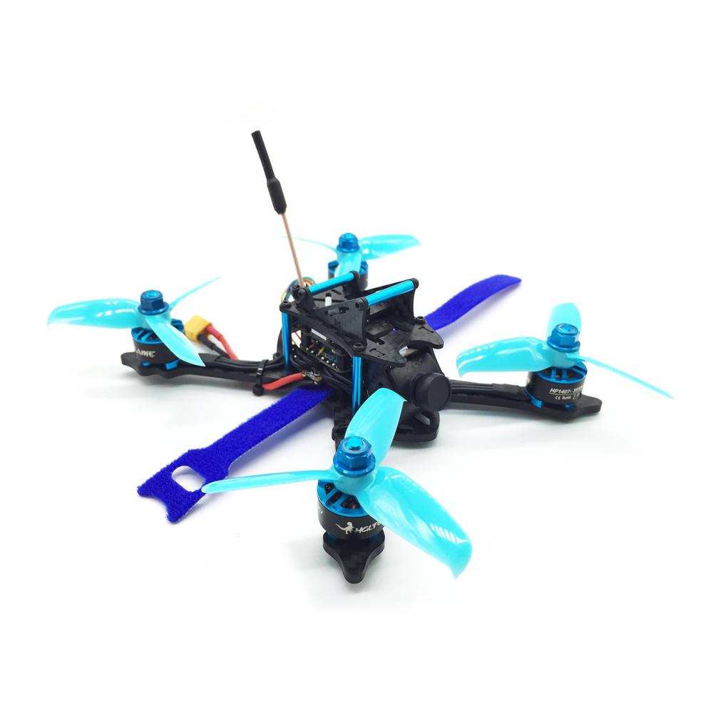 HGLRC XJB-145MM FPV Racing Drone PNP Omnibus F4 28A 2-4S Blheli_S ESC 25/100/200/350mW Switchable VTX