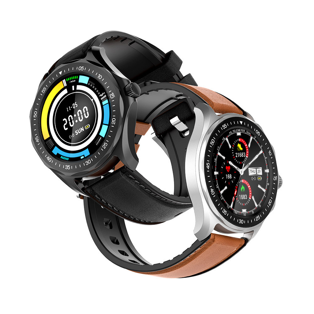 SpO2 Monitor BlitzWolf BW HL3 Full touch Screen Heart Rate Blood Pressure Monitor Running Route Track BTV5.0 Smart Watch