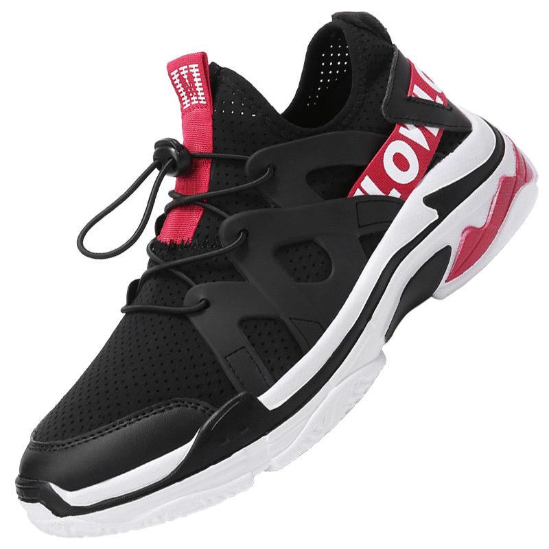 Mesh traspirante Sport all'aria aperta Formazione professionale Scarpe da corsa con suole morbide - 1