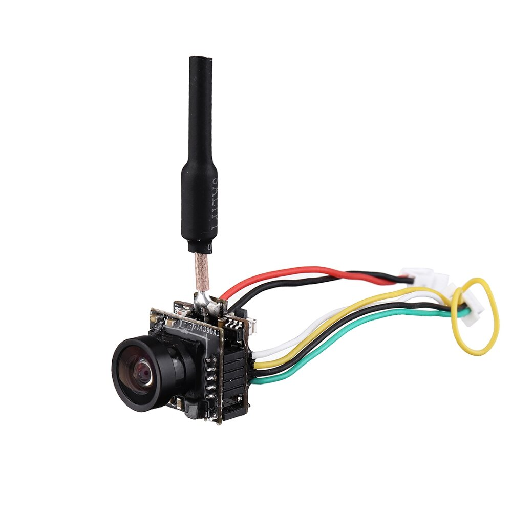 Eachine TX06 700TVL FOV 120 Degree 5.8Ghz 48CH Smart Audio Mini FPV Camera Support Pitmode AIO Transmitter For RC Drone Tiny Whoop