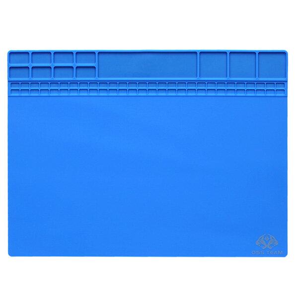 35x25cm Magnetic Heat Resistant Silicone Pad Desk Mat Maintenance Platform Heat Insulation BGA Soldering Repair Station - 5