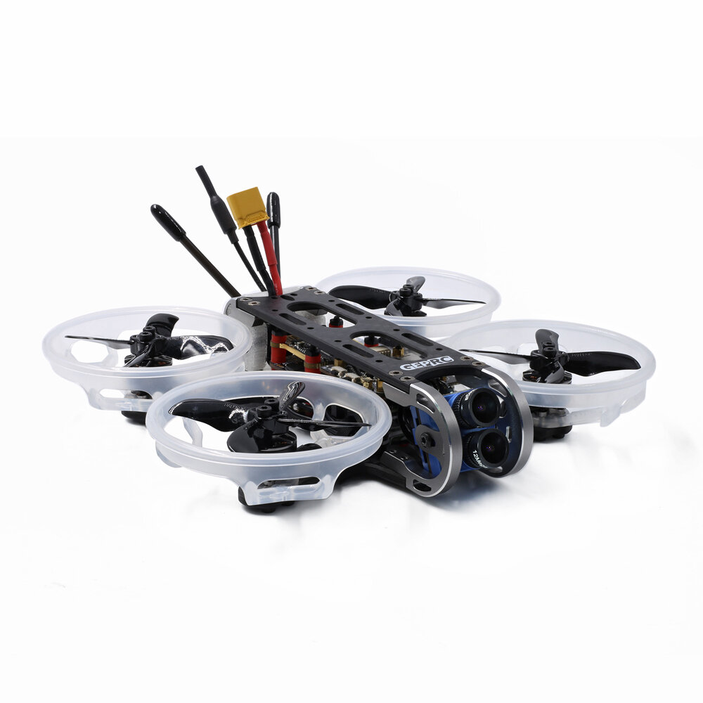 GEPRC CinePro 4K HD 3-4S FPV Racing Drone Advanced Version PNP/BNF F722 FC DUAL Gyro ICM20689 Caddx Tarsier 4K 35A ESC 5.8G 48CH 0~500mW VTX