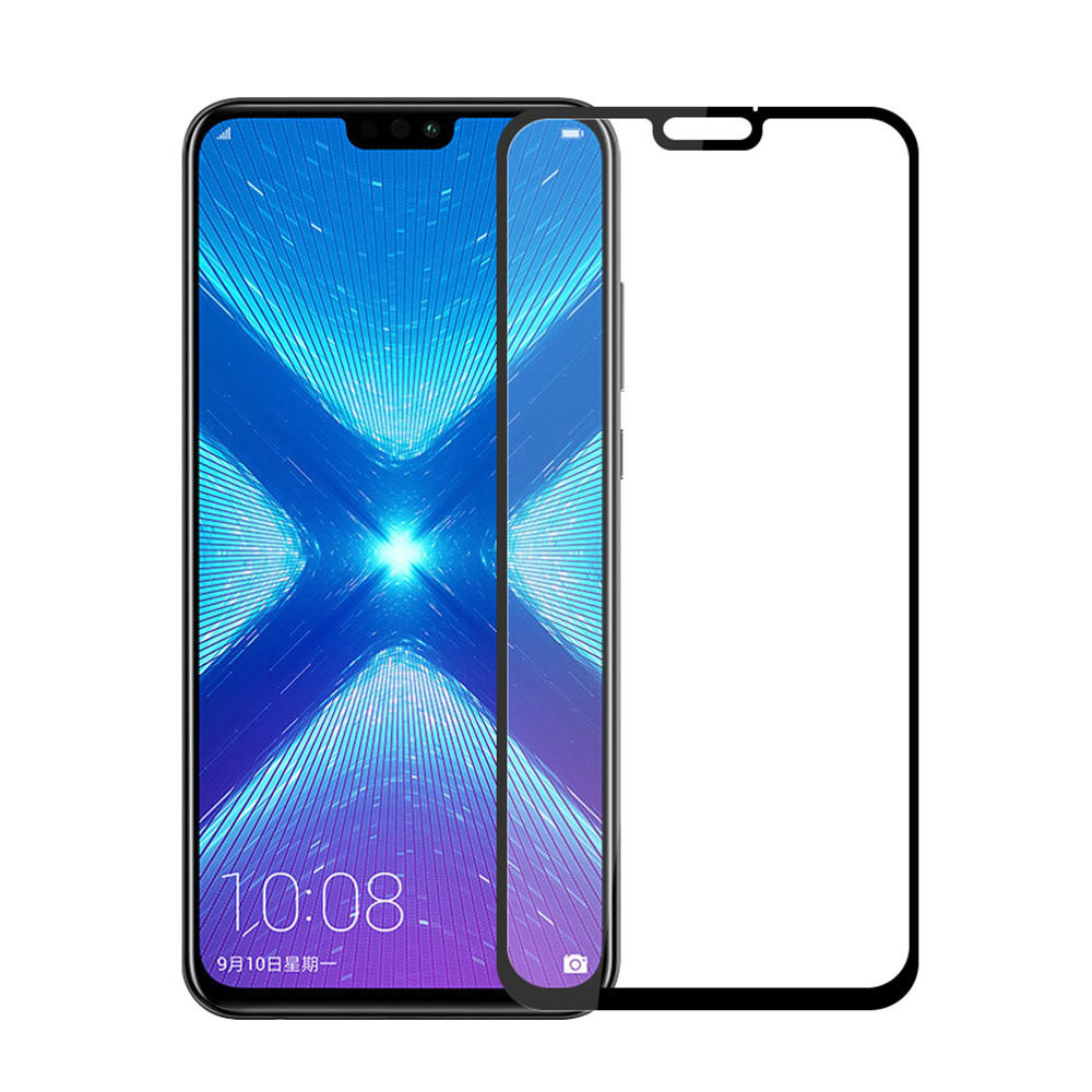 Mofi Anti-explosion HD Clear Full Cover Tempered Glass Screen Protector for Huawei Honor 8X