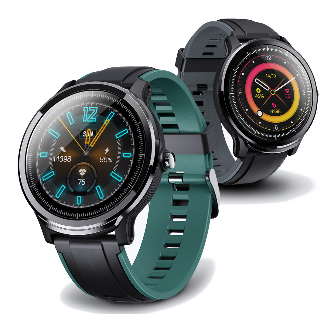 [SPO2 Monitor]Kospet Probe IP68 Full Touch Screen Wristband Customized Watch Face Heart Rate Monitor Long Standby Smart Watch