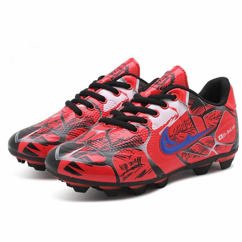Football en plein air bottes chaussures de football de spike de formation d'adolescent artificiel d'herbe - 3