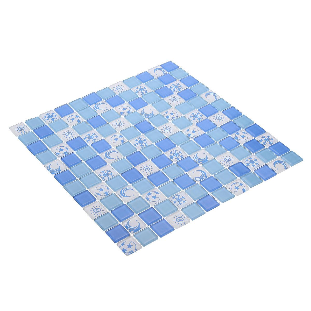 373af2b199af Waterproof Crystal 3D Mosaic Tiles Wall Sticker for Bathroom Decor