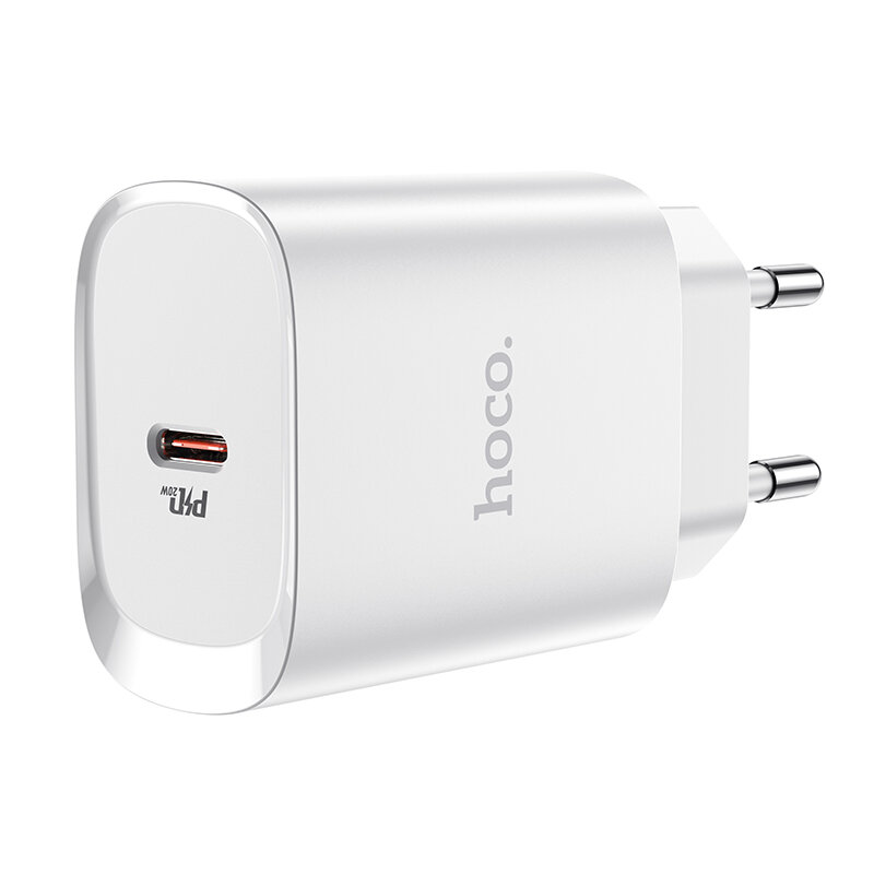HOCO N14 PD 20W Fast Charging EU Plug Type-C Wall Charger for iPhone 12 Pro Max for Samsung Galaxy S21 Note S20 ultra Hu