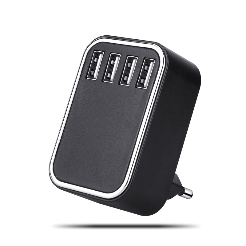 Bakeey 22.5W 4 USB Port 5V 4.25A Fast Charging EU Plug Wall Charger for Samsung Galaxy S21 Note S20 ultra Huawei Mate40