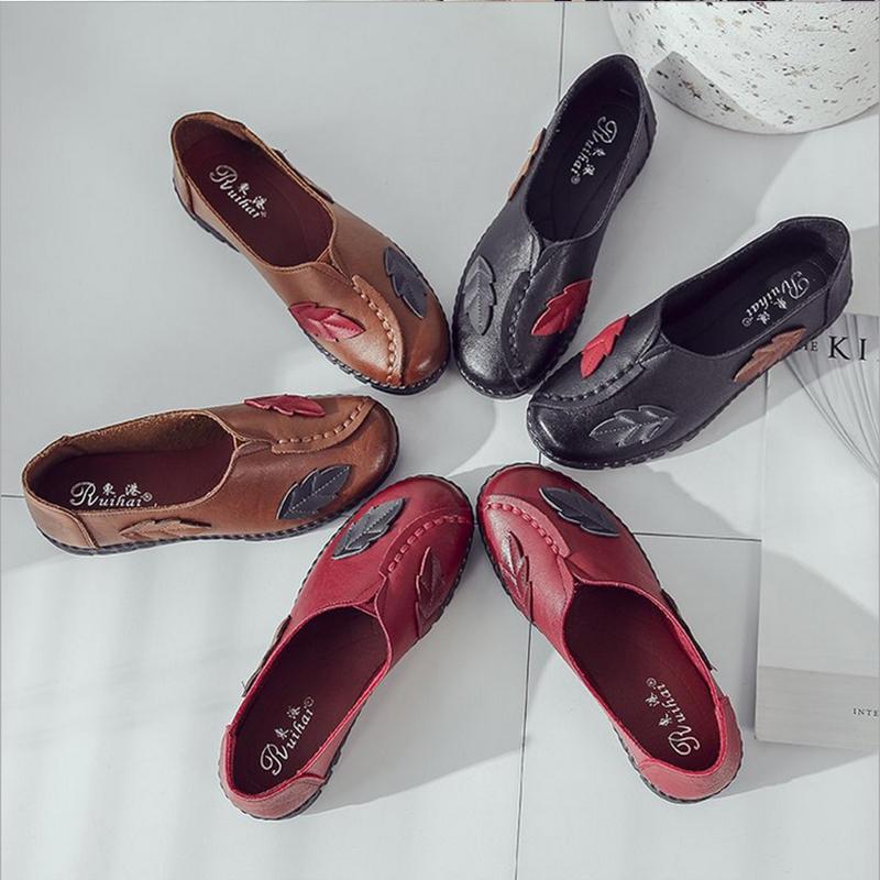 Soft,Chaussuresdemarchepourfemme, chaussures de sport portables, respirantes et respirantes, antidérapantes - 4