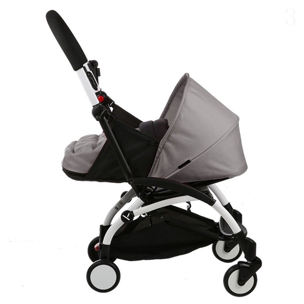 Folding Baby Stroller Sleeping Basket Infant Carriage Pushchair Sleep Pad Travel Car Stroller - 6