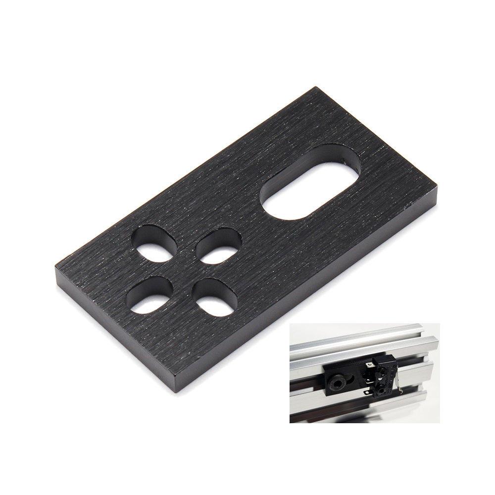Machifit Aluminium CNC Plaat Micro Limit Schakelaar Plaat voor V-slot Aluminium Extrusies Profielen CNC Onderdelen