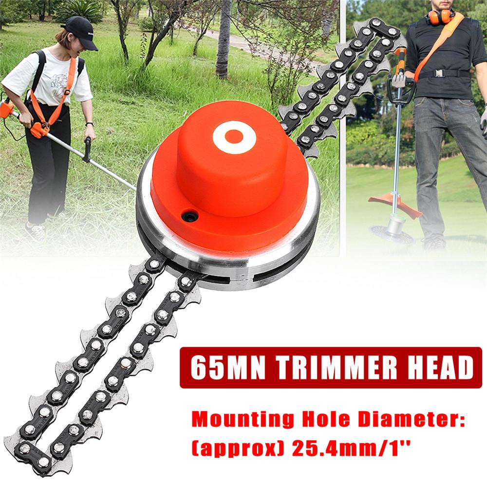 65Mn Trimmer Head Coil Kette M10 Freischneider Gras Gartentrimmer Für Rasenmäher