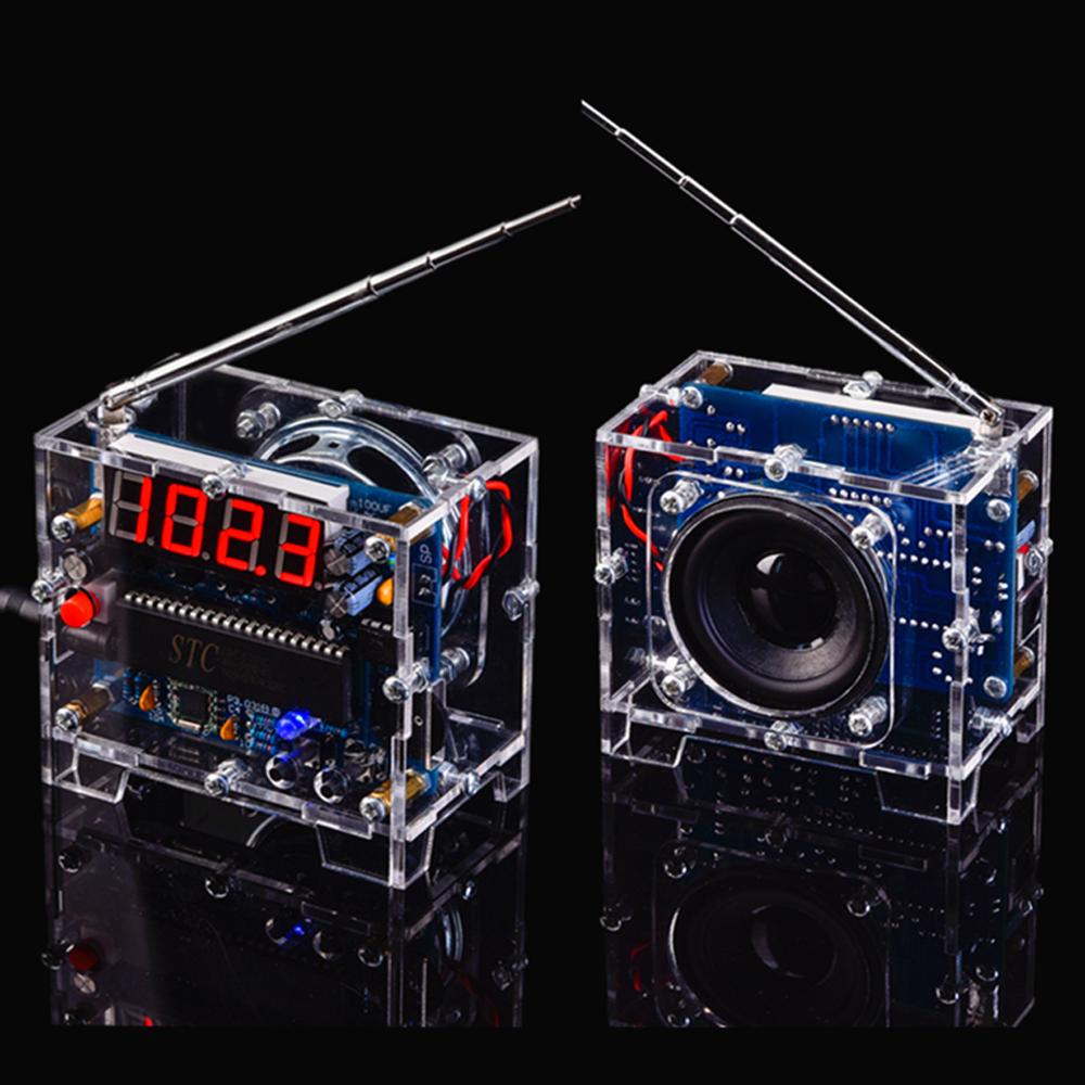 WandDaTao TEA5767 Радио DIY Набор FM Цифровой Радио Электронный DIY Пайка Набор