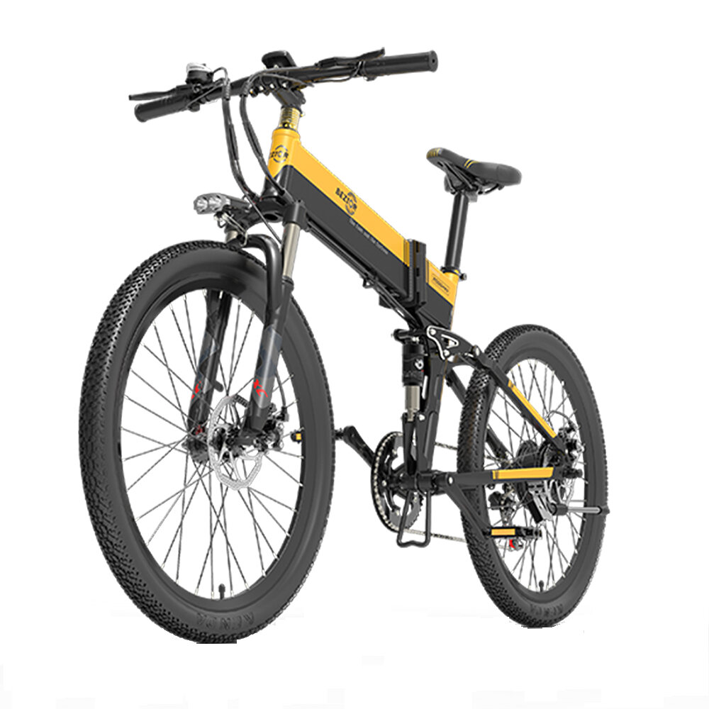 [EU DIRECT] Bezior X500Pro 10.4AH 48V 500W Folding Electric Bicycle 30km/h Top Speed 100km Mileage In Assist Mode Max Load 200Kg