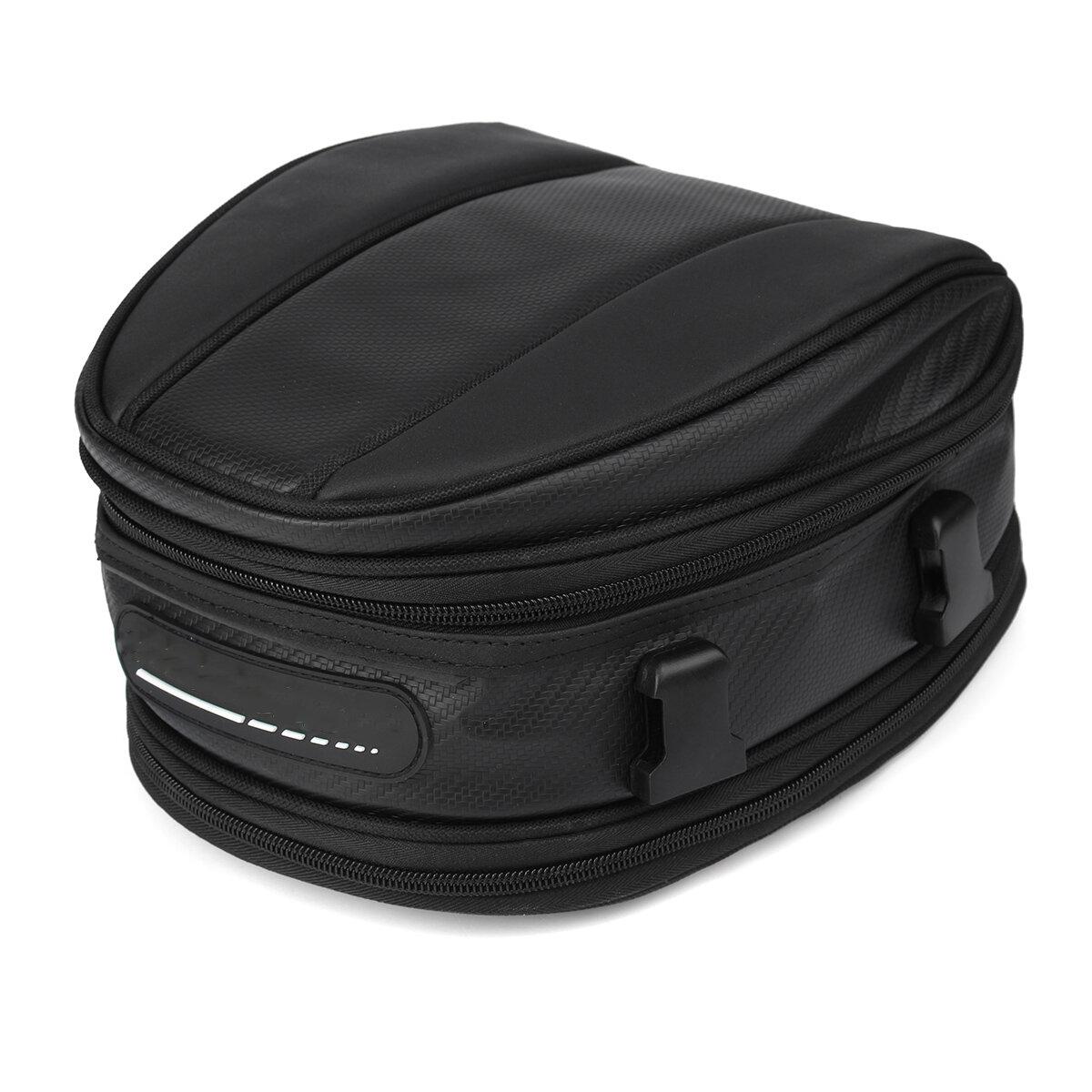 मोटरसाइकिल रियर टेल सीट पैकेज बैक सैडल बैग वॉटरप्रूफ