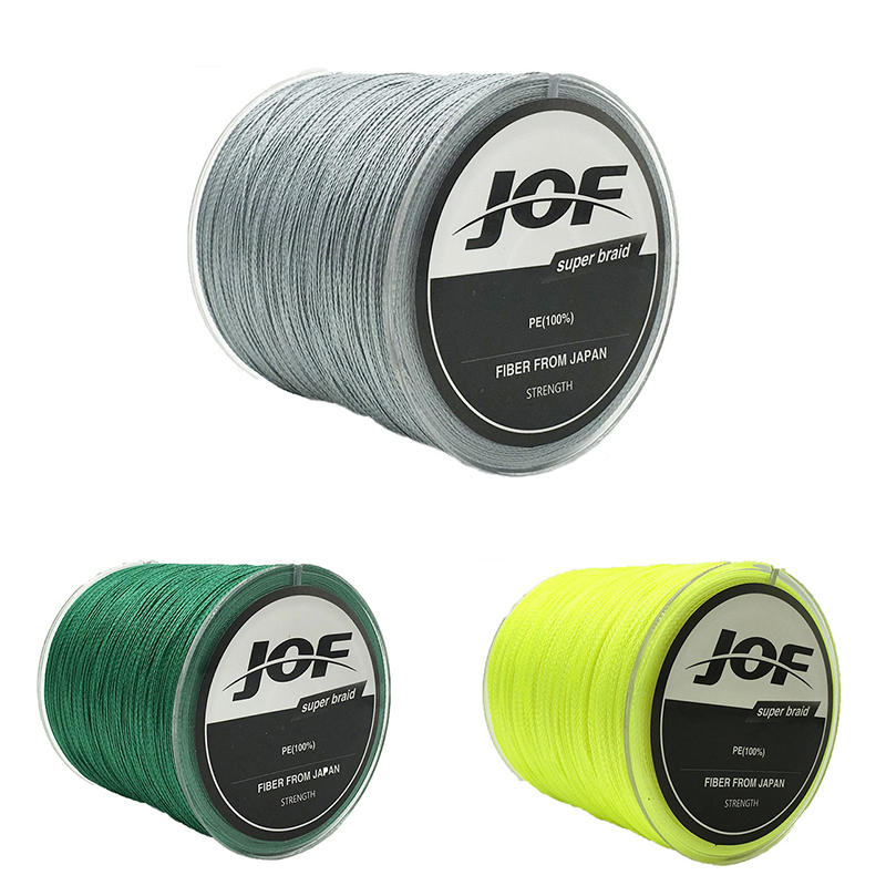 JOF 100M PE Braided 8 Strands 22-61 LB  High Sensibility Super Strong Fishing Line Sea Fishing