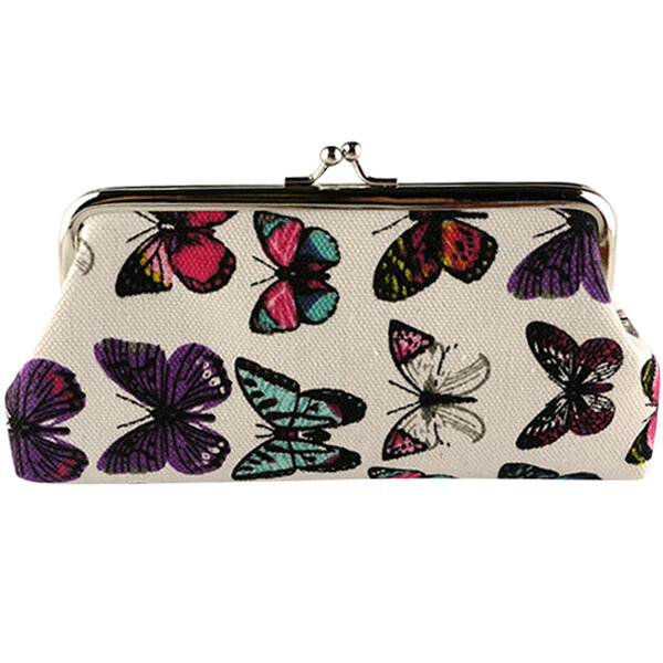 Retro Vintage Travel Cosmetic Makeup Storage Butterfly Bag Case Toiletry Holder Organizer Pouch