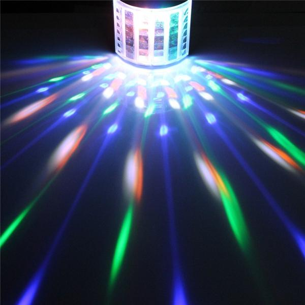 27W 385NM UV Auto Color Changing LED Stage Light for Bar Disco Party Club Christmas - 8