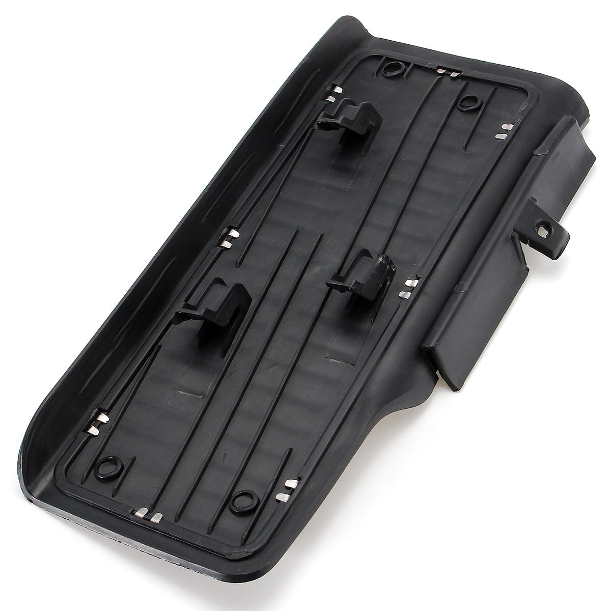 Feature:Model: 497597Condition: Brand New and High QualityColor: BlackSilverMaterial: ABS Plastic and Aluminum alloySize: 28.5x13cm(LxW)Quantity: 1pcFitment:Fits for Volkswagen Jetta MK6 2011-2016Package Included:1 X Dead Pedal