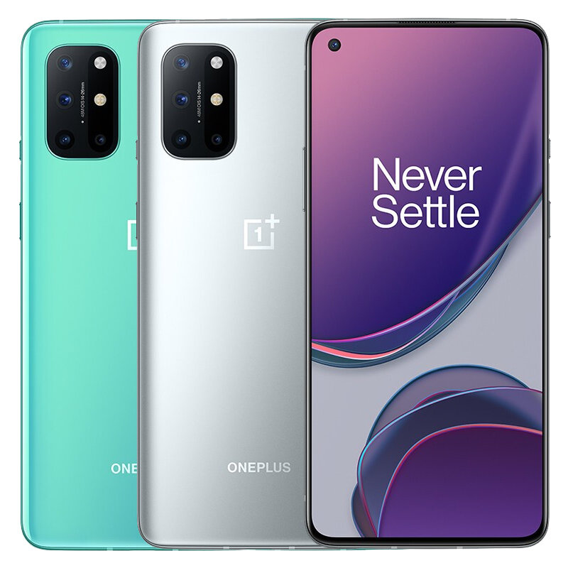 OnePlus 8T 5G Global Rom NFC Android 11 8GB 128GB Snapdragon 865 6.55 inch FHD+ HDR10+ 120Hz Fluid AMOLED Screen 48MP Quad Camera 65W Warp Charge Smartphone