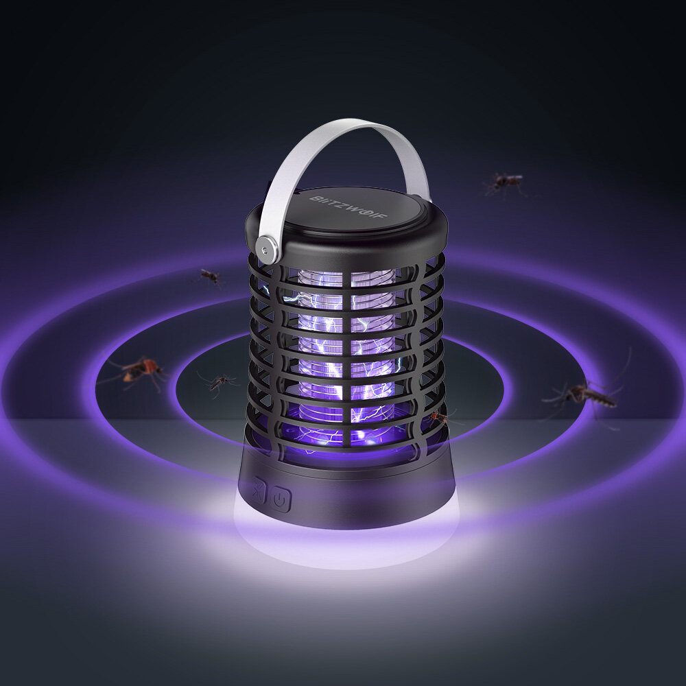 Portable Mosquito Lamp BlitzWolf BW-MLT1 for $ 15.99 / ~ 63 PLN