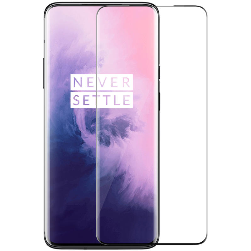 NILLKIN 3D CP+MAX Full Coverage Anti-explosion Tempered Glass Screen Protector for OnePlus 7 Pro