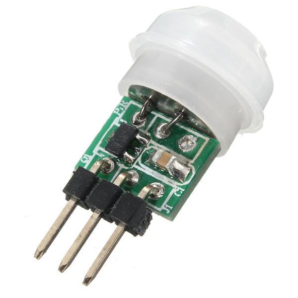 mini ir infrared pyroelectric pir body motion sensor detector ... Uxcell Motion Sensor Wiring Diagram on