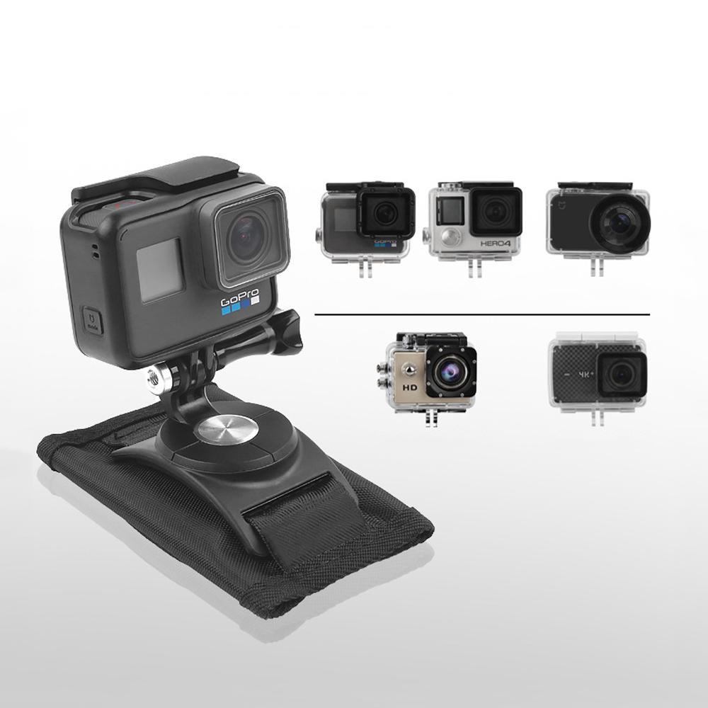 Sport Kamera Rucksack Clip Mount 360 Grad Rotary Für Xiaomi Yi Gopro Hero6 5 4 Action Kamera - 5