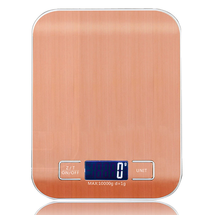WeiHeng 10kg 1g Stainless Steel Digital Scale Electronic Weight Balance Kitchen Food Diet Cooking Measure Tool