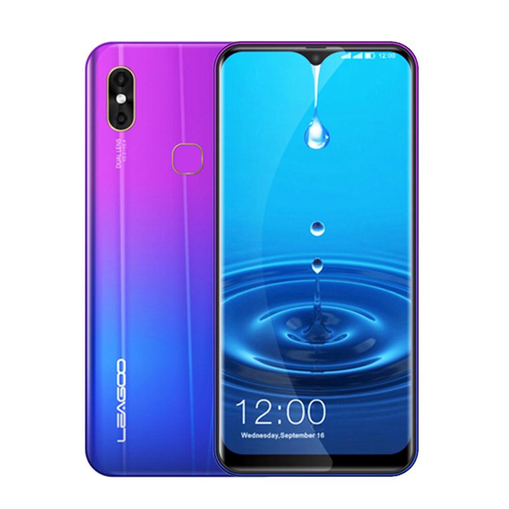 LEAGOO M13 6.1 Inch HD 19:9 IPS Waterdrop Diaplay Android 9.0 3000mAh 4GB RAM 32GB ROM MT6761 Quad Core 4G Smartphone