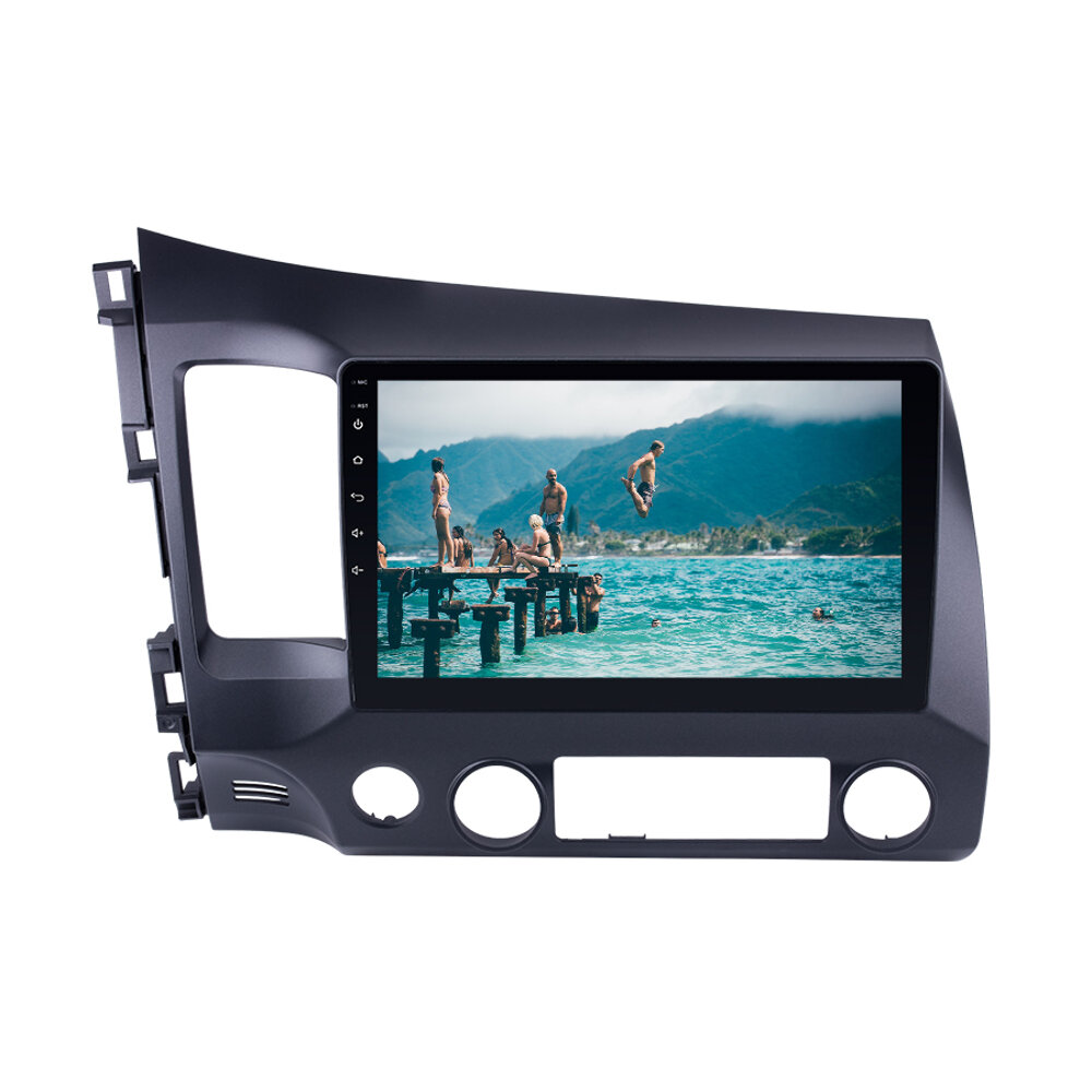 10.1Inch for Android 8.1 Car MP5 Player 1+16G Stereo Radio GPS WIFI bluetooth FM AM for Honda Civic 2006-2011