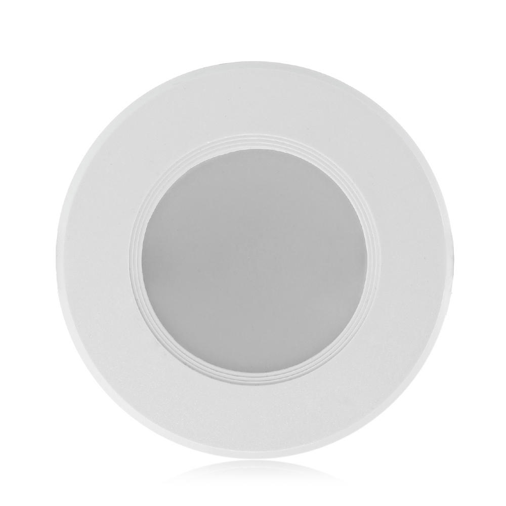 YouOKLight 3W 8 LED Ceiling Down Light AC220V White for Hotel Home Living Room Exhibition
